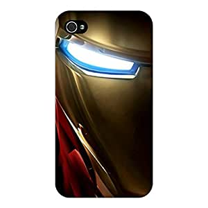 Jugaaduu Superheroes Ironman Back Cover Case For Apple iPhone 4S