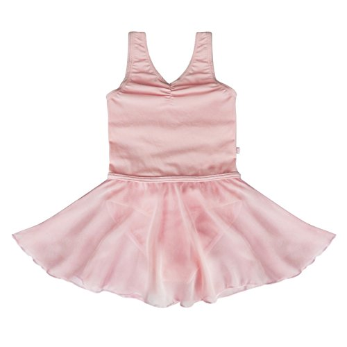 YiZYiF Girl's Sleeveless Ballet Costume Dancewear Dress Kids Leotard Clothes