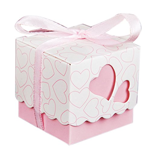 Wedding Gift Boxes Amazon : KAIL-DIY-Love-Heart-Candy-Gift-Boxes-Wedding-Bridal-Favor-Wedding ...