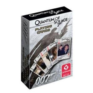 James Bond OO7 50th Anniversary Quantum of Solace Playing Cards (Skyfall 007)