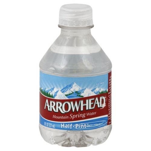 Arrowhead Water, Spring, 12 x 8.00 OZ (Pack of 4)