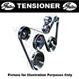 Gates T39005 Tensioner Pulley, V-Ribbed Belt