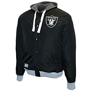 Oakland Raiders NFL Legacy Reversible Hooded Sweatshirt by MTC