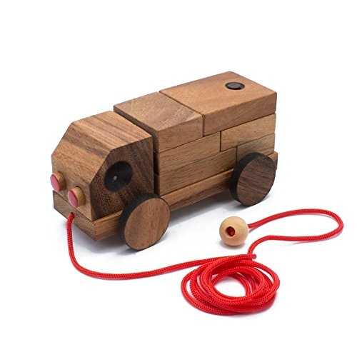 [AmaWood The Truck Puzzle] (Noahs Ark Baby Bear Costume)