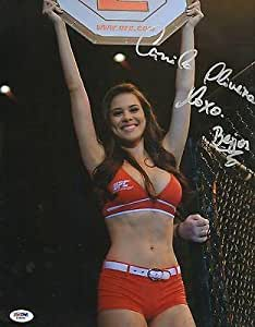 Camila de Oliveira Signed UFC 11x14 Photo COA Picture Autograph Poster