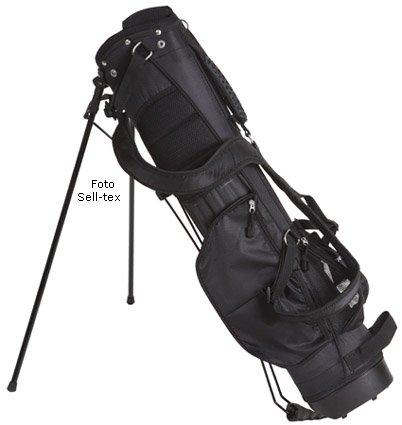 Cruiser Golf Bull - Supporto per borsone da golf, leggero, modello deluxe, 15 cm, colore: nero