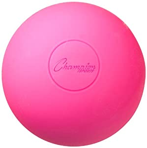 Champion Sports Lacrosse Ball (Pink) - 12 Pack