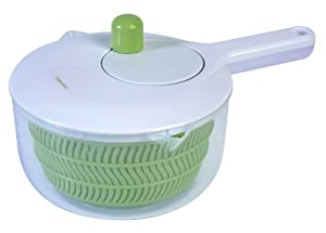 Progressive International SALL-6 Salad Spinner with Handle, 2.5 Quart