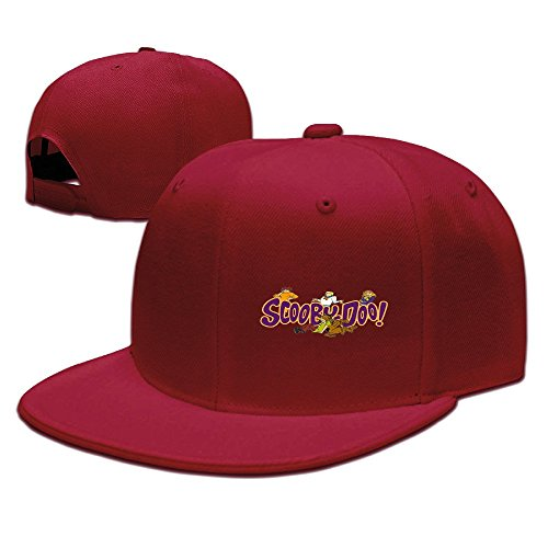 [Runy Custom Scooby Doo Logo Adjustable Baseball Hat & Cap Red] (City Mouse Costume)