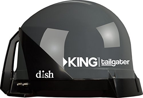 KING VQ4500 Tailgater Portable/Roof Mountable Satellite TV Antenna (for use with DISH) (King Satelite Dish compare prices)