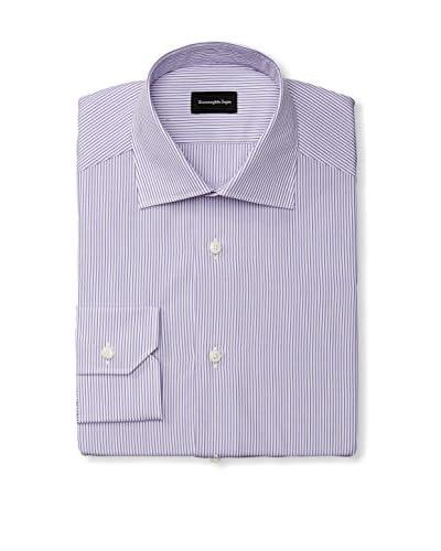 Ermenegildo Zegna Men's Stripe Dress Shirt