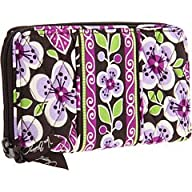 Vera Bradley Accordion Wallet in Plum…