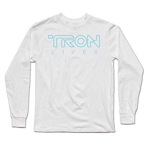 Tron Lives - Teepublic Male XL Long Sleeve T-Shirt