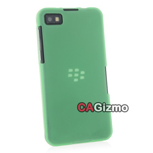 Cagizmo [8 colors available]Green Candy Colors TPU Case Cover Shell Protective Skin for Blackberry Z10 (4704-4)