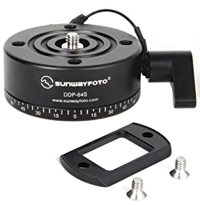 SUNWAYFOTO Indexing Rotator DDP-64SX DDP64SX for Tripod Head Sunway