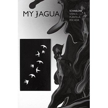 Schablone schwalben f r henna jagua airbrush tattoos for Jagua tattoo amazon