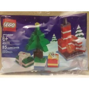 #!Cheap Lego 40009 Christmas Tree, Presents, and Fireplace