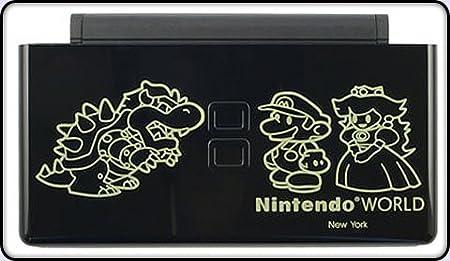 Bowser vs Mario - Nintendo DS Lite Complete Full Housing Shell Case Replacement Repair w/ Hinge Set