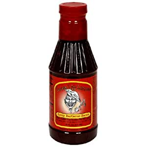 Loose Lip Larrys, Sauce Bbq Spicy, 16-Ounce (6 Pack)