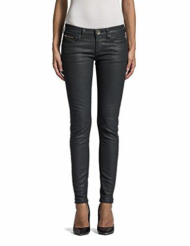 Replay Damen Skinny Jeans Alanaies, Gr. W30/L30 (Herstellergröße: 30), Schwarz (Black Denim 7) thumbnail