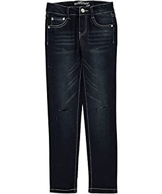 "Wallflower Big Girls' ""Knee Slit"" Jeggings"