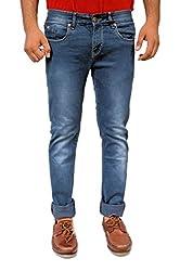 Evanzo Men's Slim Jeans (ZS3CA5A9978_Grey_32W x 32L)