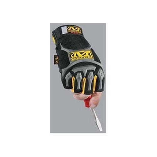 Mechanix Wear MFL-05-540 M-Pact Fingerless Glove, Black, X-Large/XX Large