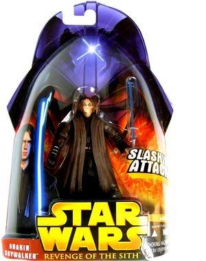 Star Wars Revenge of the Sith Anakin Skywalker Slashing Attack #28 Action Figure