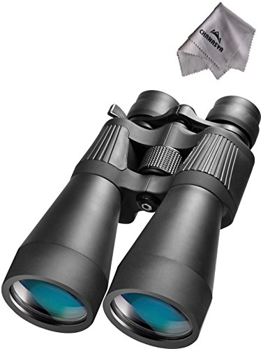 10-30X60 Colorado Zoom Binoculars Co11338 With Chanasya Polish Cloth Bundle