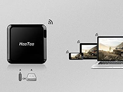 [New Arrival] HooToo® TripMate Elite Versatile Wireless N Travel Router with 6000mAh Battery Charger (Dual USB Wall Charger, USB Storage Wi-Fi Media Sharing, Access Point, Wi-Fi Mini Router & Bridge) PC, Personal Computer