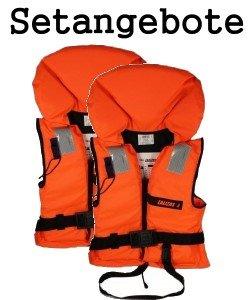 2 Rettungswesten aus der Bootskiste ~ Größe wählbar 15 bis über 90 Kg