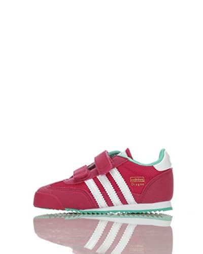 adidas Sneaker Dragon Cf I [Fucsia/Bianco/Verde]