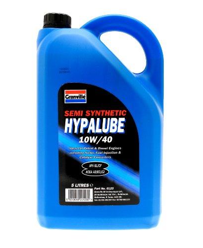Granville 0123 5L Hypalube Semi Synthetic 10W/40 Engine Oil
