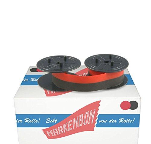 1 x Farbbandspulen Sharp CS 4780 [schwarz / rot] original markenbon Sharp Farbband 051 S + U - Canon Gruppe 51 (1 Karton mit 1 Stück)