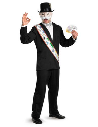 Monopoly Deluxe Adult 42-46 Adult Mens Costume