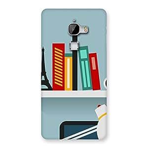 Creative Desk Multicolor Back Case Cover for LeTv Le Max