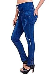 Blinkin High Waist Women Jeans