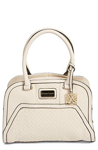 cxl-womens-handbags-bellflower-embossed-weave-shoulder-purse-nude-beige-tan-by-christian-lacroix