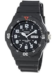 Casio MRW200H 1BV Black Resin Watch