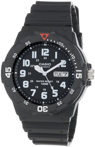 Casio Mens MRW200H-1BV Sport Analog Dive Watch