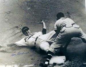 Lou Boudreau autographed 11x14 Photo (Cleveland Indians)