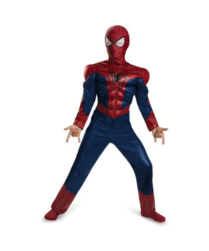 Kids the Amazing Spider Man Movie 2 Muscle Boys Costume
