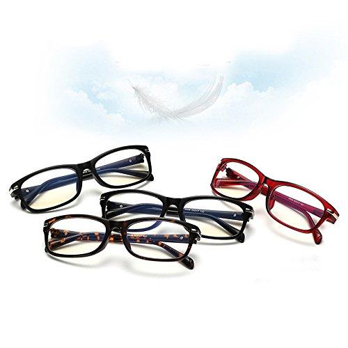 F.G.S ブラウン ブルーライトカット メガネ パソコン用 メガネ uvカット レンズ 紫外線カット メガネ 専用収納ケース付き 眼鏡棚全3色 F.G.S正規代理