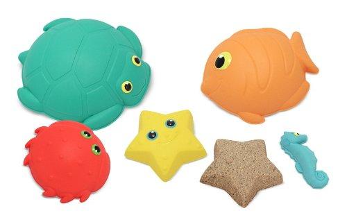 Melissa & Doug Sunny Patch Seaside Sidekicks Sand-Molding Set