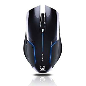 TEAM SCORPION X-LUCA: Gaming Mouse features USB, scroll wheel, real-time DPI switch (600-2400 DPI) and special grip