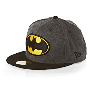 New Era 59Fifty DC Hero Melton Batman Cap - Grey