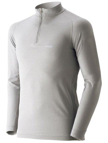 (モンベル)mont-bell ジオライン L.W. ハイネックシャツ Men's 1107488 SV シルバー S