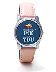 Posterguy Party Flyer Pattern Women Wrist Watches