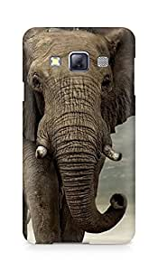 Amez designer printed 3d premium high quality back case cover for Samsung Galaxy A3 (Animals Funny)