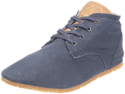 Eleven Paris Basic Colors Canvas Washed, Scarponcini Uomo, Blu (Marine (Acidwash Navy Aw07)), 36